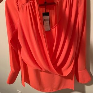 BCBG MaxAzria Long Sleeved Shirt